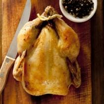 Apricot Glazed Cornish Hen
