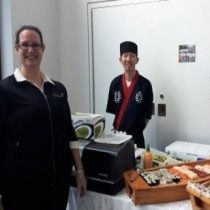 On-Site Sushi Chef