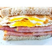 Peameal Bacon & Egg Bagel