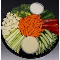 Veggies & 2-Dips Platter