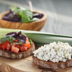 Bruschetta & Seafood Dips