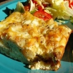 Cheese & Potato Frittata