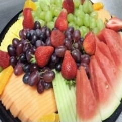 Fresh Sliced Fruit Platter