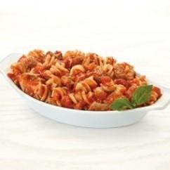 Rotini In Meat Sauce